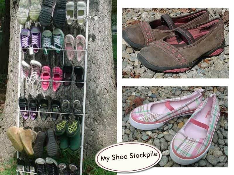 My Shoe Stockpile